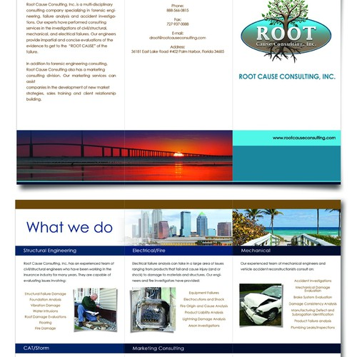 create brochure ROOT CAUSE CONSULTING, INC