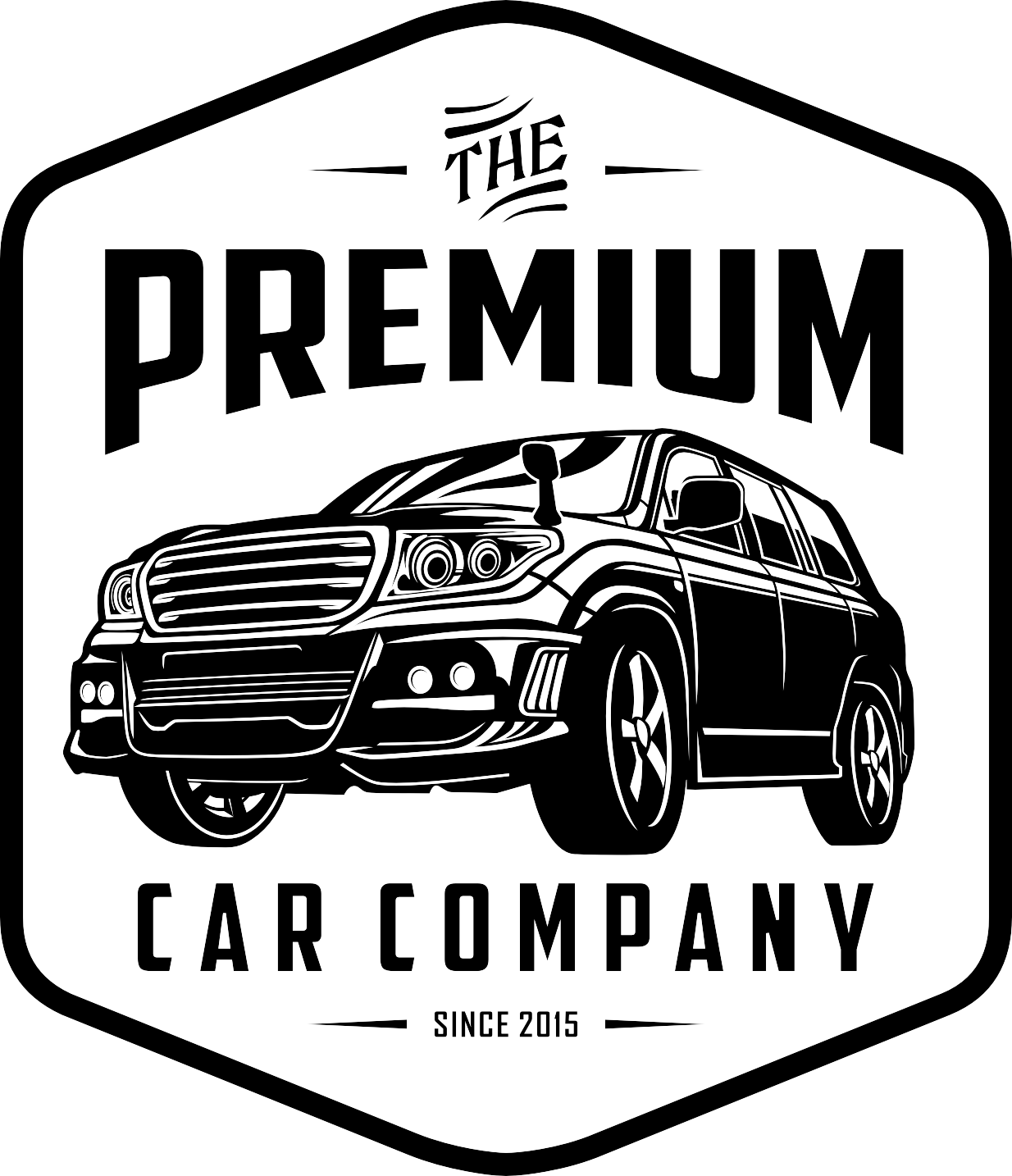 Create a logo that will scream luxury for The Premium Car Company