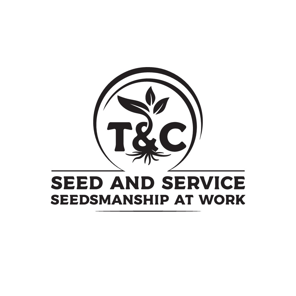 Logo design for a small agricultural seed supply company.