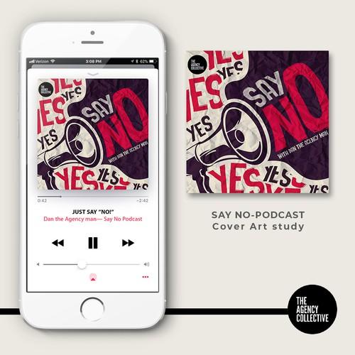 Say No- Podcast Cover Art study