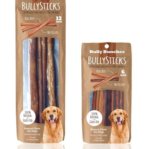Packaging Bully Sticks