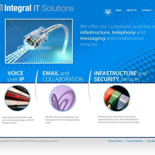 Need Attractive IT service site!