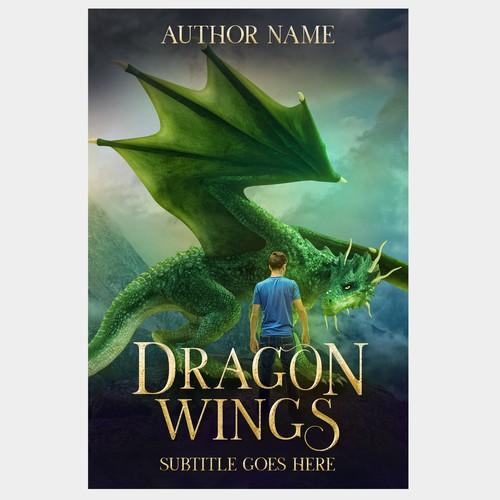Premade cover for YA Dragon Fantasy