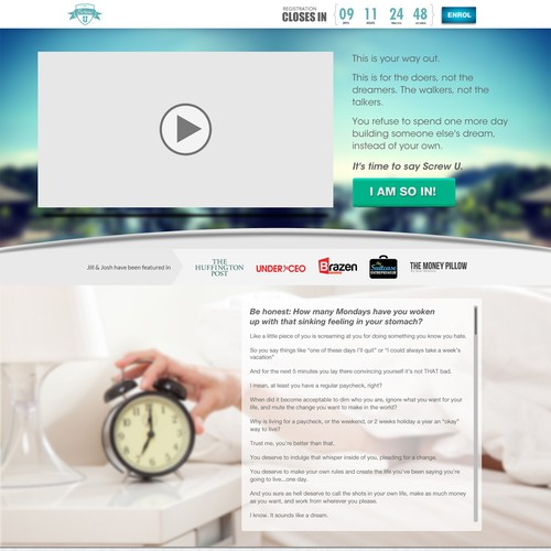 Create a Winning 1 Page Sales Page - Step by Step Instructions + $300bonus