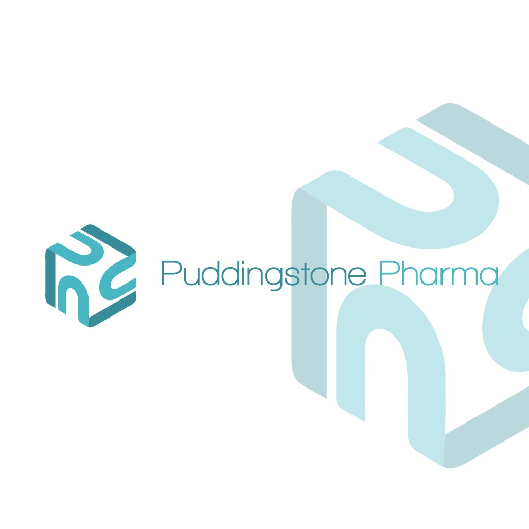 Design pharmaceutical/cosmetic manufacturer logo and a preview of product label w/ logo incoporated