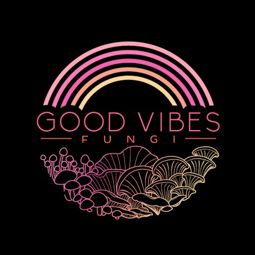 Logo for Good Vibes Fungi