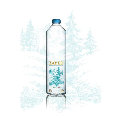 Bottle Design for Zayed