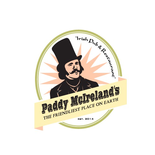 TRADITIONAL, MODERN logo with RETRO/VINTAGE vibe needed for Irish Restaurant/Pub/Whiskey Brand!