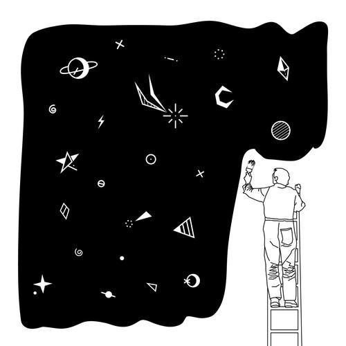 Galaxy Painter
