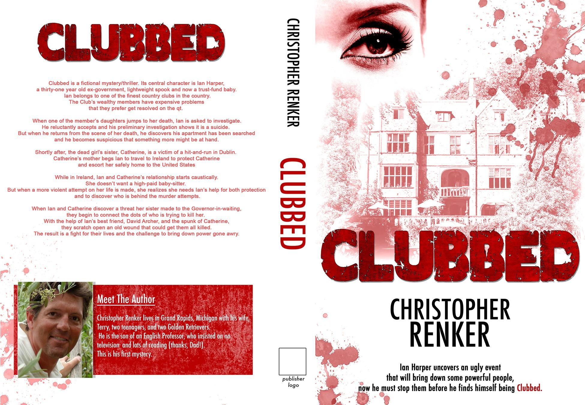 book or magazine cover for Chris Renker