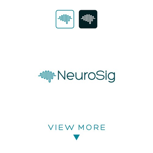 Simple creative logo concept for NeuroSig