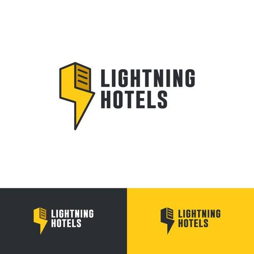 Lightning hotel logo