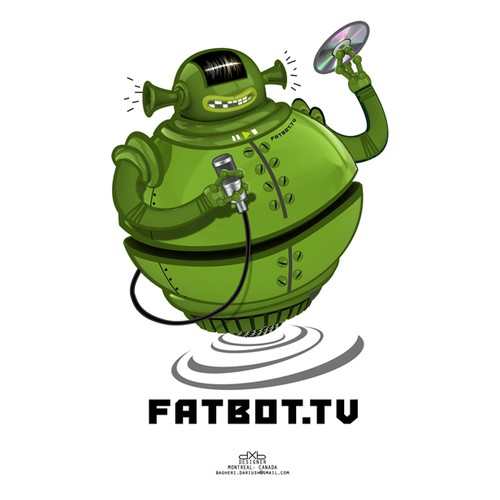 Fatbot.tv illustration concept