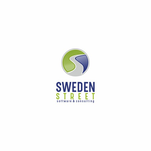 3D logo for sweden street