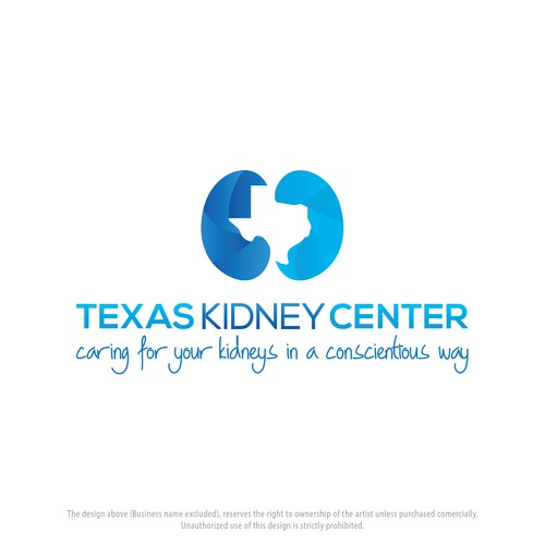 Compassionate logo for Texas Kidney Center