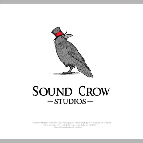 Logo for Sound Crow Studio