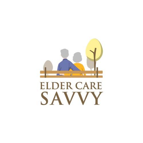 Warm & Peaceful Feel for Elder Care Logo