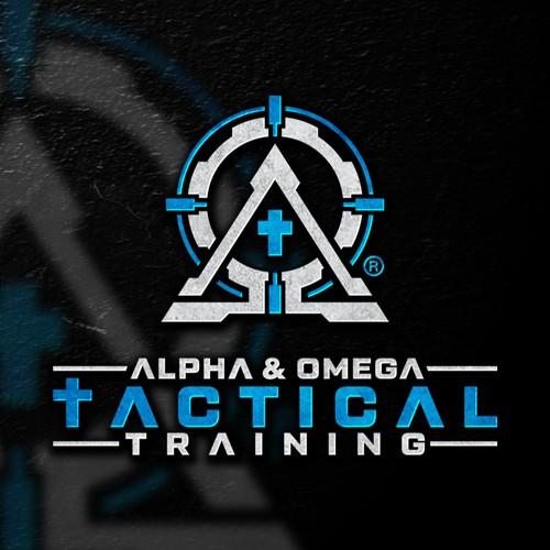 Alpha & Omega Tactical Training Logo Design