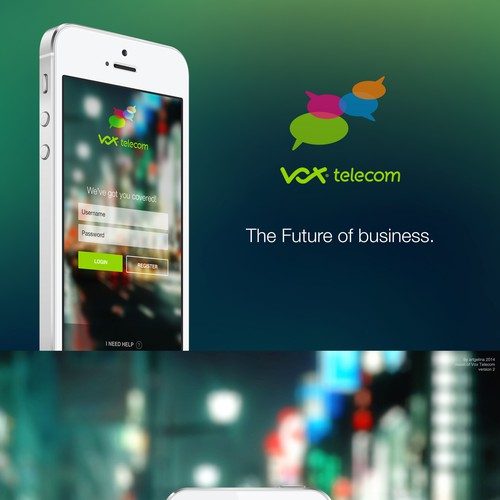 Mobile app for telecoms operator