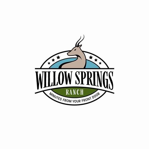 Willow Springs Ranch Logo Design