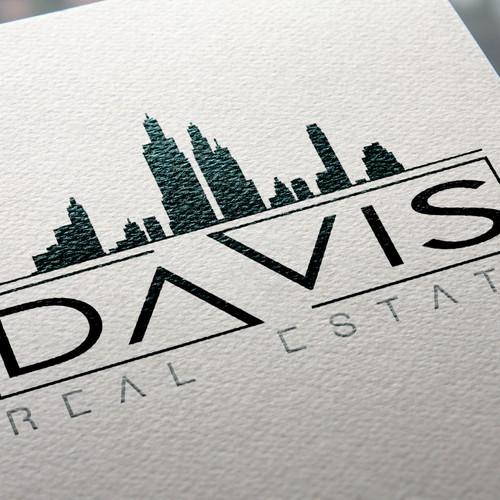 Create a logo for Davis Real Estate