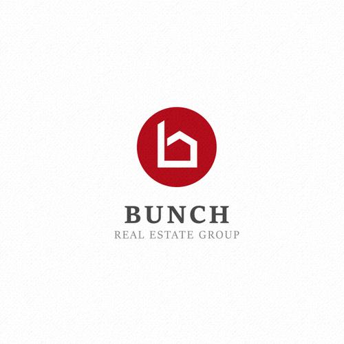 Logo winner for Bunch Real Estate