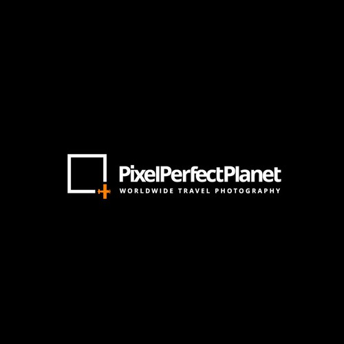 Pixel Perfect Planet Logo