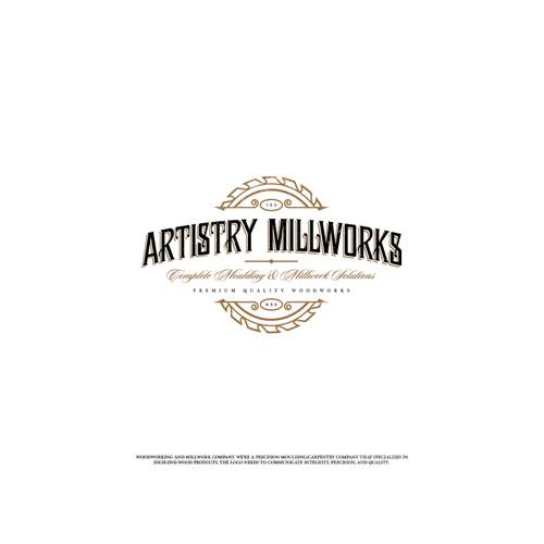 Logo Design Entry for Artistry Millworks