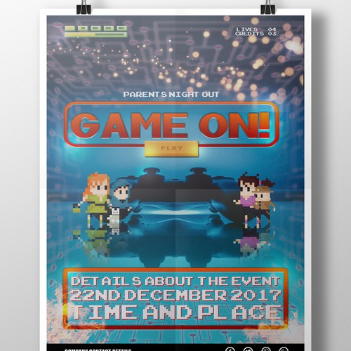 Game On Poster V2