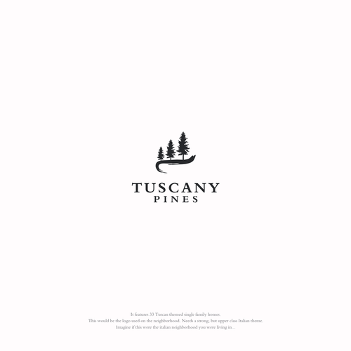 TUSCANY PINES Real Estate Logo