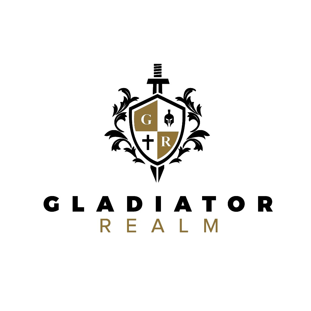 Design a logo for the Association all real men aspire to belong - The Gladiator Realm