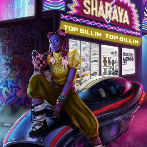 Illustration for Sharaya J