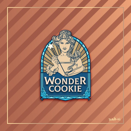 Wonder Cookie Logo Design to Bring Joy and Happiness to Thousands of People
