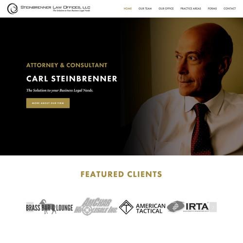 Steinbrenner Law Website