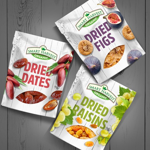 Smart Harvest Dried Fruit Package