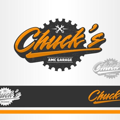 Chuck's AMC Garage needs a logo