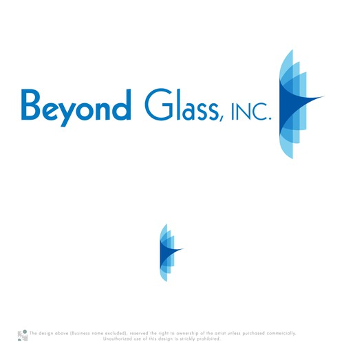 logo for Beyond Glass Inc.