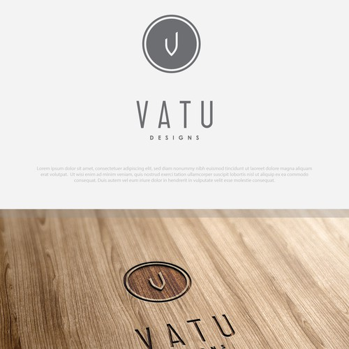 Logo vatu interior product design