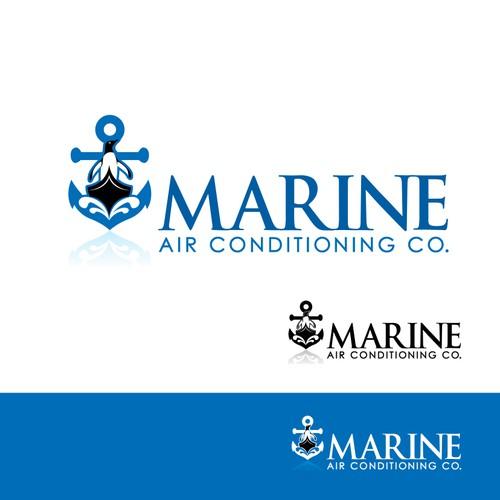 FUN LOGO FOR MARINE AIR CONDTIONING COMPANY