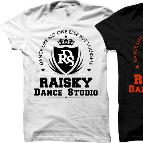Create a hip T-shirt for DANCERs !!!