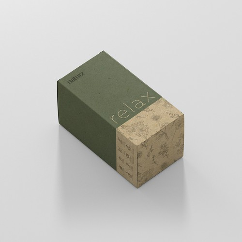 Calm Minimal Product packaging