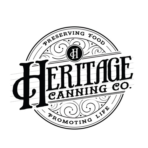 A Unique Logo for Heritage Canning Co