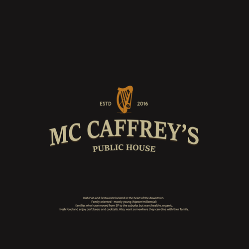 Irish pub- Mc Caffrey's