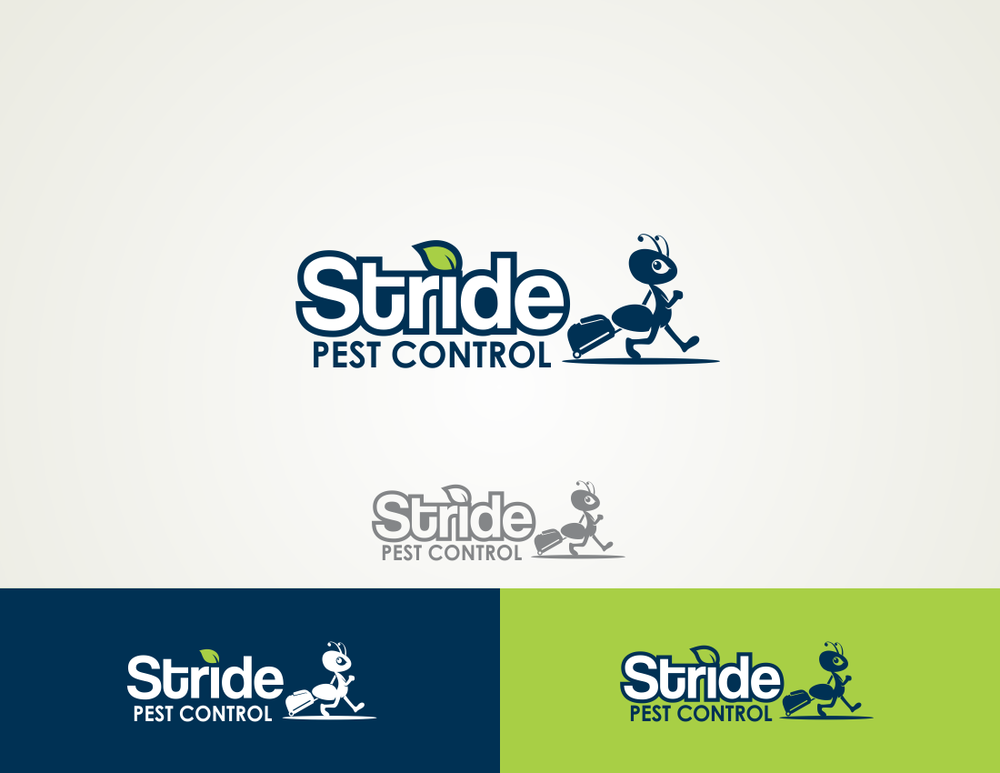 A SWEET *Guaranteed Prize* logo for a startup - Stride Pest Control
