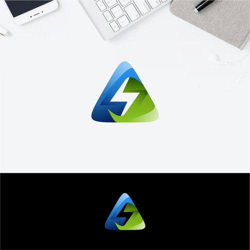 Dynamic logo for energy company