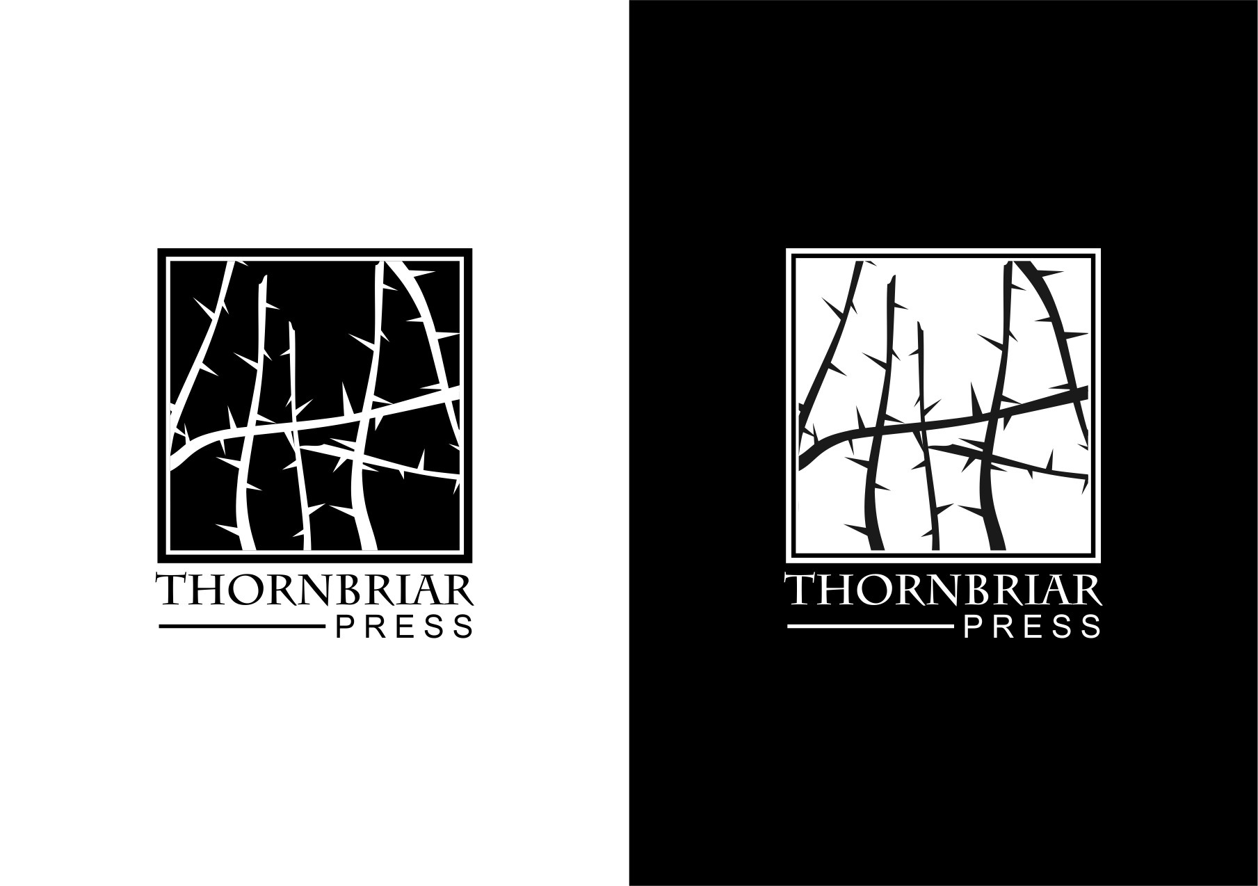 Help Thornbriar Press with a new logo