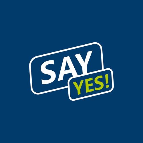 Say Yes! - Logo