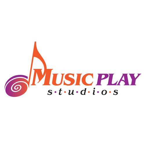 Create the next logo for Music Play Studios