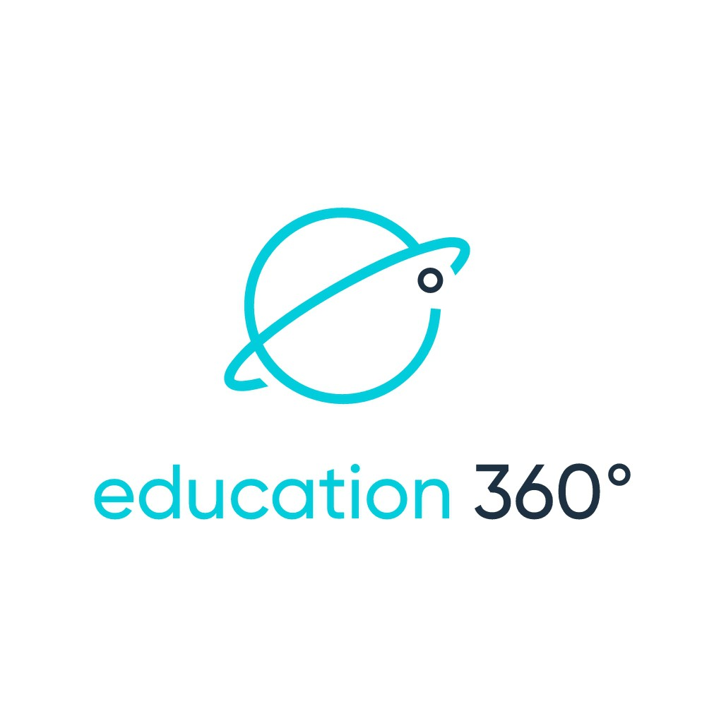 Create a serious but curious making logo for education 360°