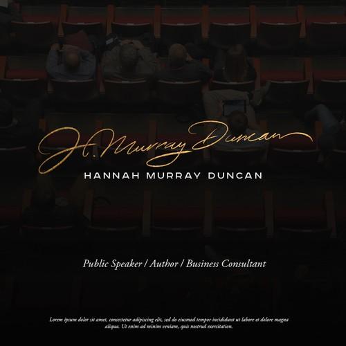 Logo concept for H. Murray Duncan